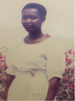 Young Teacher Judith in Secondary School