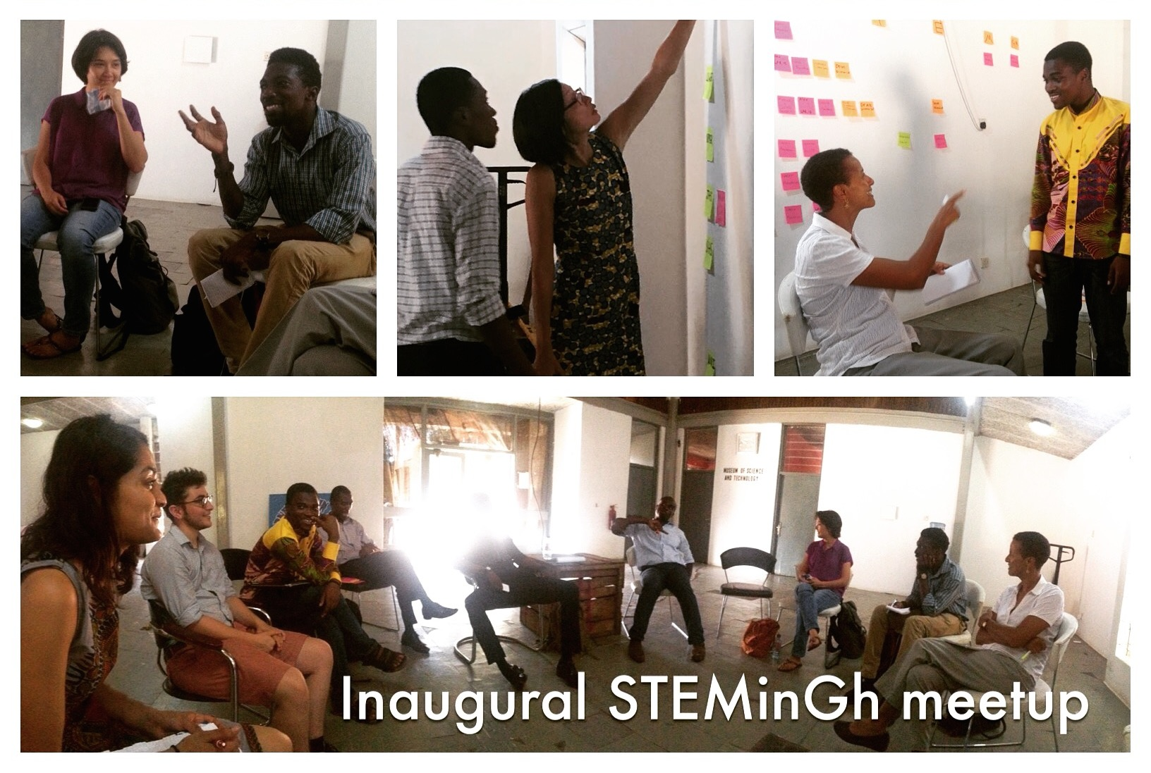 Ghana STEM 1st Gathering - Collage